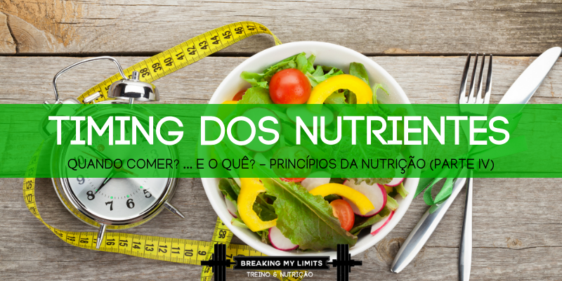 Quando é que deves tomar a tua proteína? E os teus hidratos? Aprende a otimizar o teu timing dos nutrientes nesta publicação!