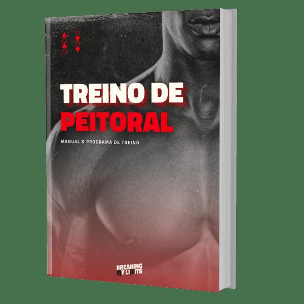 O e-book do treino de peitoral com um plano de treino completo