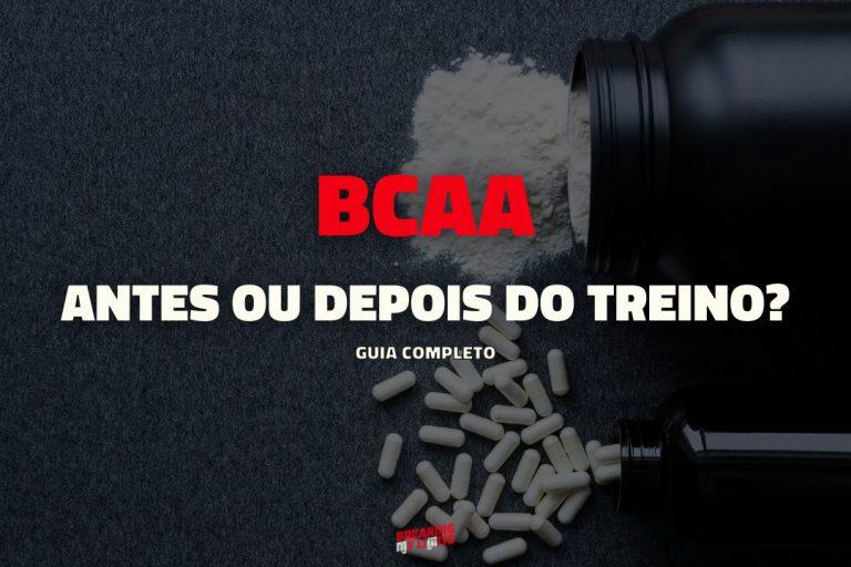 Tomar BCAA antes ou depois do treino?